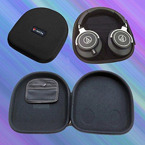 V-MOTA ANC Headphone Carry case Box for Audio Technica ATH-M70X ATH-M50X ATH-M40X ATH-MSR7 ATH-WS770 ATH-WS550 ATH-WS1100 ATH-ANC7 ATH-SR9 ATH-DSR9BT ATH-DSR7BT Headset