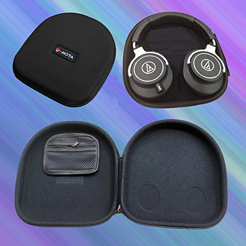 V-MOTA ANC Headphone Carry case Box for Audio Technica ATH-M70X ATH-M50X ATH-M40X ATH-MSR7 ATH-WS770 ATH-WS550 ATH-WS1100 ATH-ANC7 ATH-SR9 ATH-DSR9BT ATH-DSR7BT Headset
