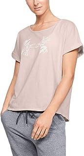 Under Armour Women's Graphic Script Logo UA Fashion Ssc T-Shirt