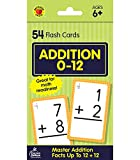 Carson Dellosa | Addition Flash Cards | Select Facts through 12, Ages 6+, 54ct
