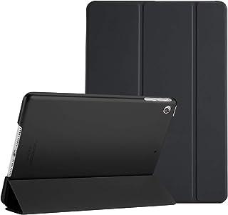 ProCase Funda Inteligente para iPad Air, Carcasa Folio Ligera y Delgada con Smart Cover/Reverso Translúcido Esmerilado/Soporte, para Apple iPad Air (A1474 A1475 A1476) –Negro