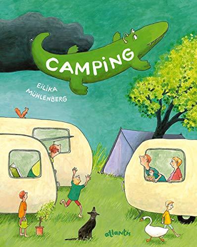 Camping: Urlaub mit Wind und Wirbel. Eine Wimmel-Geschichte