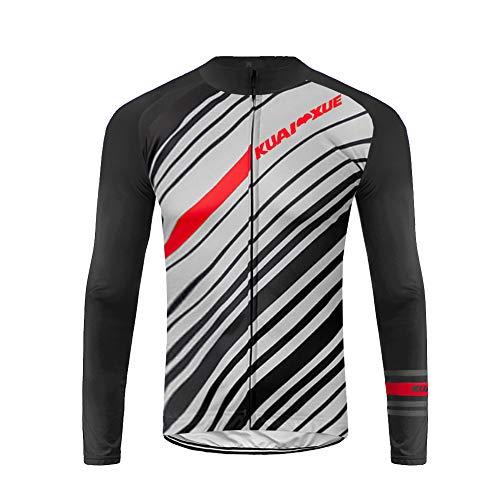 Uglyfrog Hera Ropa Ciclismo Maillot Térmico Hombre Camiseta Térmica Manga Larga de Ciclistas Invierno Thermal Cycling Jersey