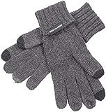 Urban Classics Herren Knit Gloves Handschuhe, Grau (Darkgrey Melange 01417), one size