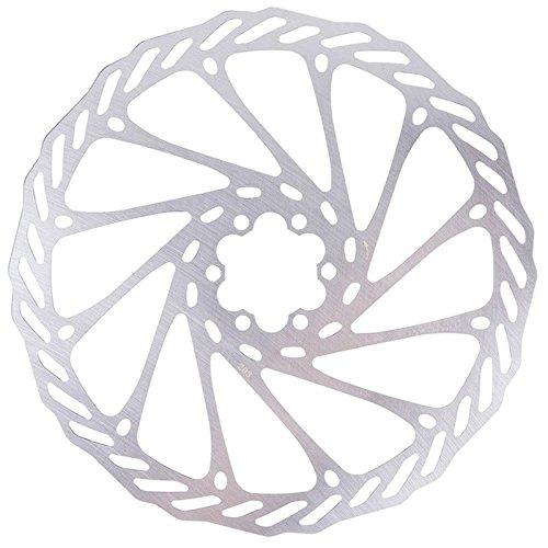 JVSISM Rotor de Disco de Freno de Acero Inoxidable de Bicicleta de Montana MTB Bicicleta 203 mm con Rotor de 6 Tornillos, 203mm