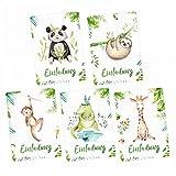 nikima Schönes für Kinder - 5 Einladungskarten Set -