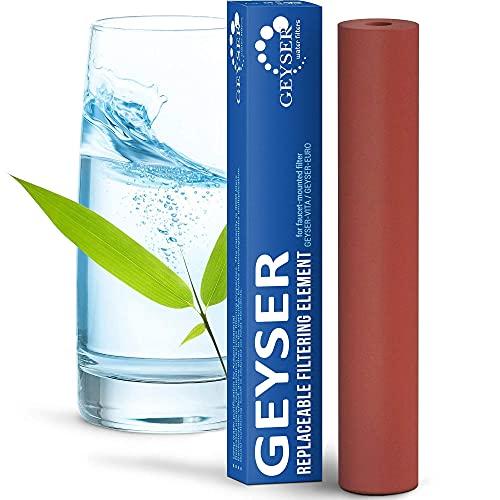 Cartucho Aragon para filtro de grifo Geyser Euro, recambio de filtro Geyser Euro.