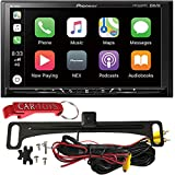 Pioneer DMH-1500NEX Digital Media Receiver Safe Driver's Bundle with HD Backup Camera. Car Stereo with 7' WVGA Display, Apple CarPlay, Android Auto, SiriusXM Ready, Bluetooth, High-Res, Maestro Ready