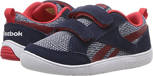 Reebok Kids Baby Boy's Ventureflex Chase II (Toddler) Collegiate Navy/Primal Red/White 8 Toddler M