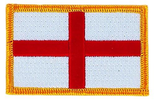 Patch om op te strijken, geborduurd met Engelse vlag