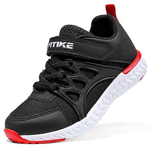 VITIKE Kinder Schuhe Jungen Schuhe Mädchen Sneaker Hallenschuhe Kinder Damen Sportschuhe Outdoor Schuhe Jungen Turnschuhe Laufschuhe Schnürer Freizeit Sportschuhe Kinder Sneaker