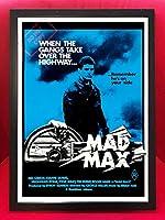 マッドマックスMad Maxオーストラリア版復刻A3ポスターインターセプター/XBファルコンGT/M.F.P./カワサキZ1000/トゥーカッター