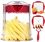 Best Fry Cutters - French Fry Cutter, Apple Cutter, Onion Chopper, Vegetable Review