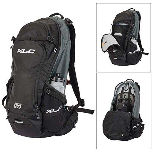 XLC BA-S82 E-Bike Rucksack, schwarz/Petrol-Grau, 23 Liter