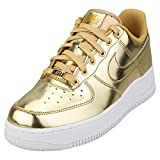 Zapatilla NIKE W Air Force 1 SP Mujer Oro 38