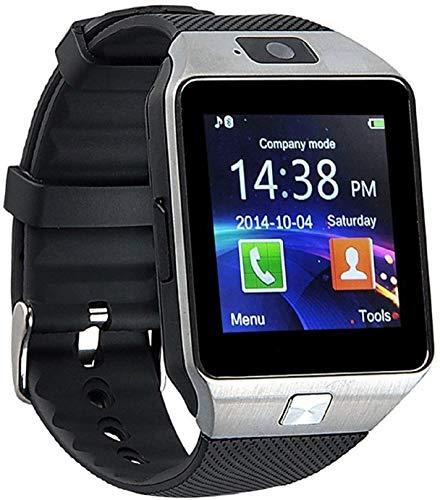 Winnes - Reloj inteligente para mujer o niño con cámara para Android IOS (negro)
