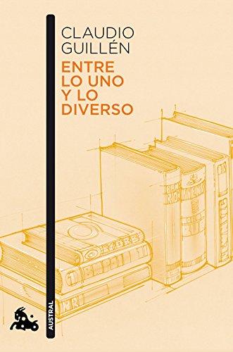 Entre lo uno y lo diverso: Introducción a la Literatura
