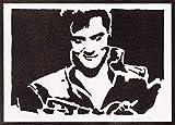 Elvis Presley Poster Plakat Handmade Graffiti Street Art -