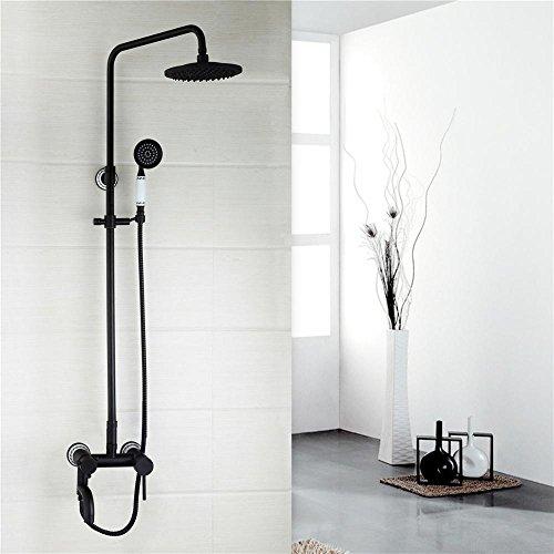Minimalist Wall Mounted ORB Bathroom Shower Faucets Bathroom Shower Faucet Mixer Tap With Hand Shower Head Shower Faucet Set,ORB2