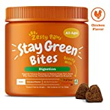 Zesty Paws Stay Green Bites for Dogs - Grass Burn Soft Chews for Lawn Spots Caused by Dog Urine…