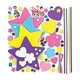 Baker Ross Kit per bacchette magiche (confezione da 4) - Creazioni per bambini, per traves...