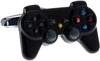 MRCUFF Computer Video Game Controller Pair Pair Cufflinks in a Presentation Gift Box & Polishing Cloth
