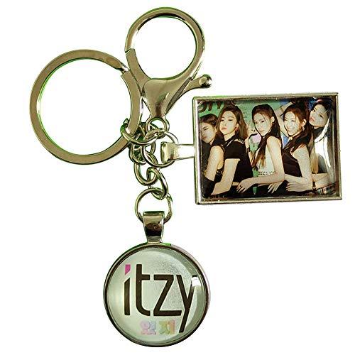 Zhenzhiao 2020 Kpop Itzy It' Z Me Album Acryl Schlüsselanhänger Anhänger Yeji Lia Yuna Figur Anhänger Schlüsselanhänger 1pcs - H01