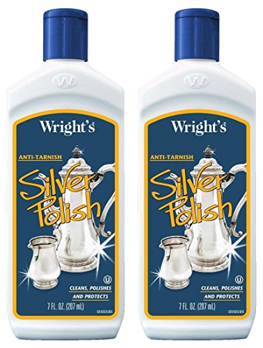 Wright's Anti-Tarnish Silver Polish Liquid 7 oz