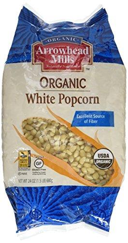 Arrowhead Mills Organic White Popcorn-24 oz