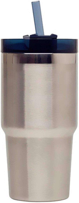 TXTTXT Grande Tasse de capacité en Acier Inoxydable Tasse de Paille Grande Tasse de café Tasse de Voiture portable Mugs Isotherme