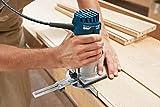 Bosch Professional Kantenfräse GKF 600 (inkl. Maulschlüssel, Parallelanschlag, Führungshilfe, Spannzangen 6+8 mm, im Handwerkerkoffer) - 6