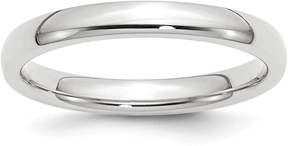 Roy Rose Department store Jewelry 14k Limited price sale White Band- Comfort-Fit 3mm Gold