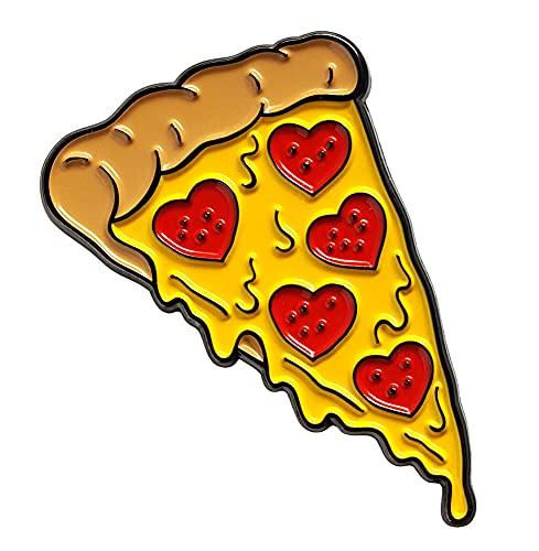 Pinsanity Slice of Pepperoni Lover's Pizza Enamel Lapel Pin