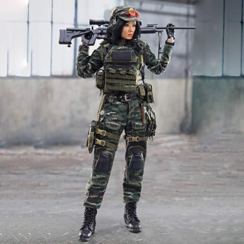 Matuke Action Figuren Modell, 30CM Weiblich Soldat Modell Actionfigur Modell Spielzeug Geschenk für Kinder und Erwachsene, 1: 6