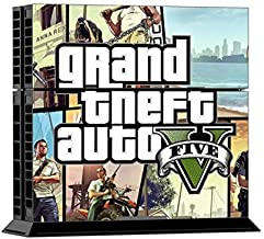 GTA 5 Decal Skin Cover Sticker For PS4 Console And Controller
