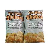 The Whole Shabang Original Potato Chips   6 oz Bags   Pack of 2   Seasoned Potato Chips