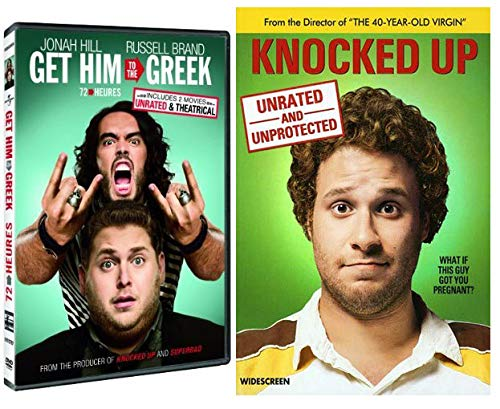 Getting Pregnant with Judd Apatow DVD 2 pack- Knocked Up and Get Him to the Greek