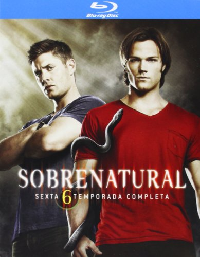 Sobrenatural Temporada 6 Blu-Ray Blu-ray