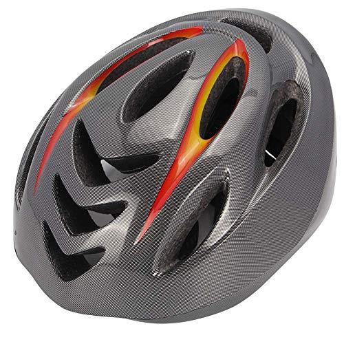 LQQZZZ Casco De Bicicleta con Intermitente LED, Casco De Bicicleta para Adultos...