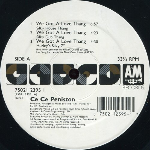 Ce Ce Peniston - We Got A Love Thang - A&M Records