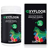 YLMO OXYFLOOR Soluzione elimina odori e sanificante per Pavimenti | Non tossico per l'Uomo e per Gli Animali | Senza Cloro ne ammoniaca (Neutro)
