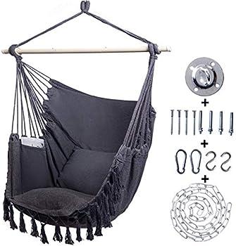 Kanchimi Hanging 330 Lbs.Large Hammock Chair
