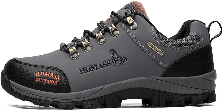 Mans skor Plus sammet Keep Keep Keep Warm utomhus skor Winter Casualtourism skor Non Slip Wear Resistent springaning skor, B,40  kreditgaranti