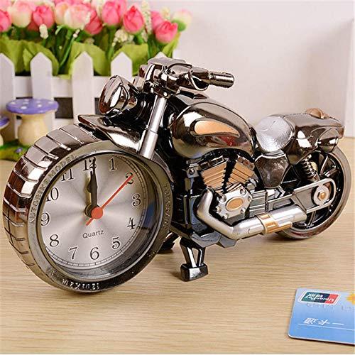 VJRQM 1 reloj despertador creativo para motocicleta, decoración del hogar, reloj de pared, reloj de escritorio, Saat, Año Nuevo, decoración de Navidad.