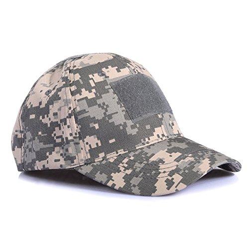 Ever Fairy Military Baseball Armee Taktische Tarnung Hat Schirmmütze für Wargame Jagd Angeln Outdoor-Spiele (Digitale ACU)