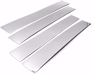 Best stainless steel pillar post covers Reviews