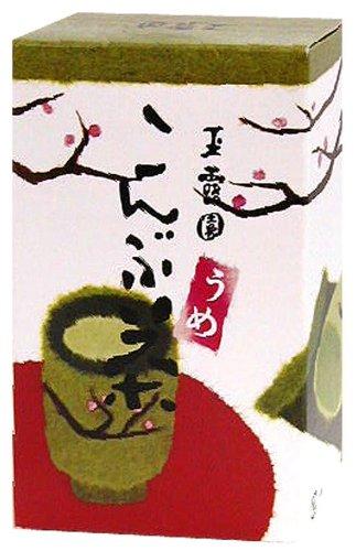 玉露園 梅こんぶ茶 500g