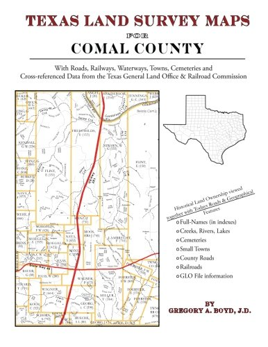 Texas Land Survey Maps for Comal County