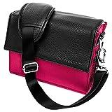 Pink Ladies Shoulder Bag Gadget Bag Fits Nikon SLR DSLR Cameras/Zoom Lens Accessory Pack