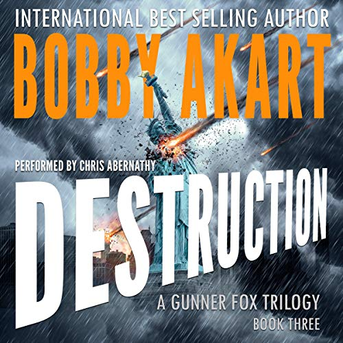 Asteroid: Destruction audiobook cover art